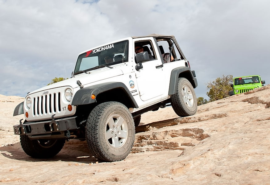 Modified Jeep rental